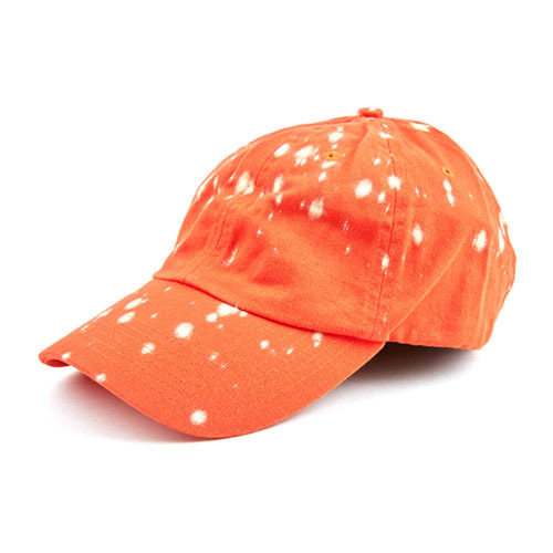 ANY MEMES SPLATTER STRAPBACK (ORANGE)