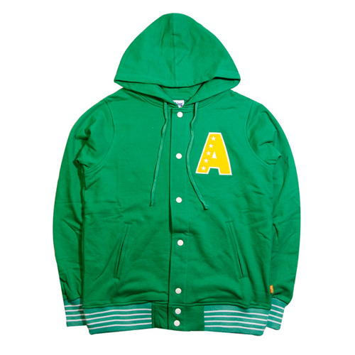 ANYTHING 5 STAR SNAP FRONT HOODIE [3]