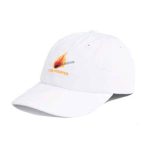 THE HUNDREDS Draft Dad Hat White