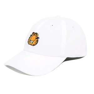 THE HUNDREDS X Garfield Mood Dad Hat WHITE