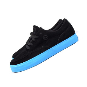 HUF MILWAUKEE SUEDE BLACK / SKY